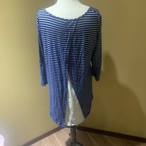 THYME maternity striped tunic
